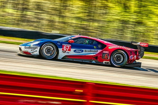 2019 Acura Sports Car Challenge at Mid-Ohio - Richard Westbrook and Ryan Briscoe in the #67 Ford GT - Ford Chip Ganassi Racing