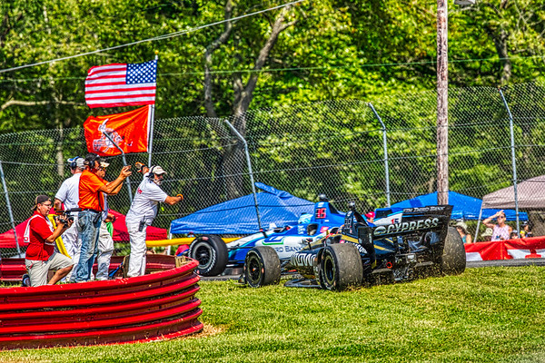 2019 Honda Indy 200 at Mid-Ohio Sportscar Course - James Hinchcliffe in the Honda powered #5 - Arrow Schmidt Peterson Motorsports