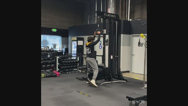 Fourth Exercise: Neutral Grip Lat Pulldown
