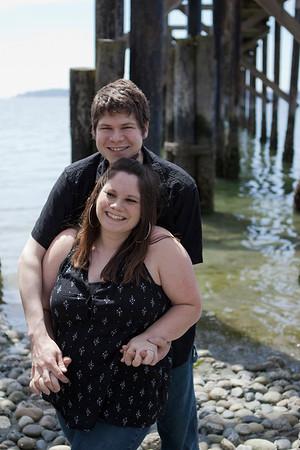Karen and Stephen Engagement Shots