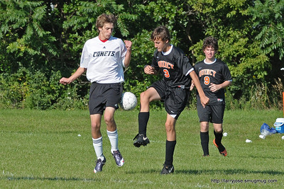 Jonesville vs Quincy Boys Soccer
