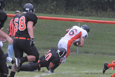 Jonesville vs Stockbridge Football