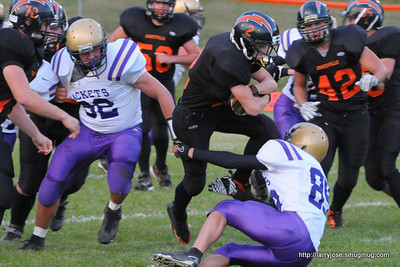 Jonesville vs Concord Football