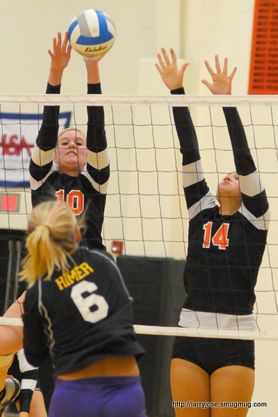 Jonesville vs Concord Volleyball