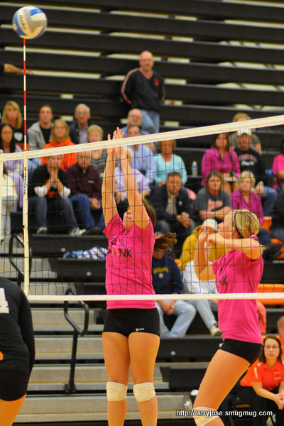 Jonesville vs Homer Volleyball