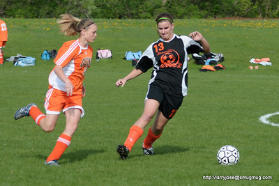 Jonesville vs Quincy Soccer