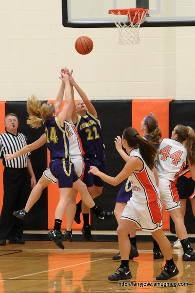 Jonesville vs Concord Girls Basketball