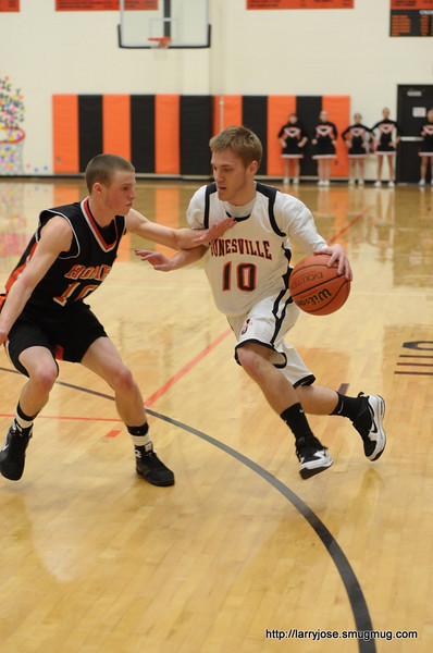 Jonesville vs Homer Boys Basketball