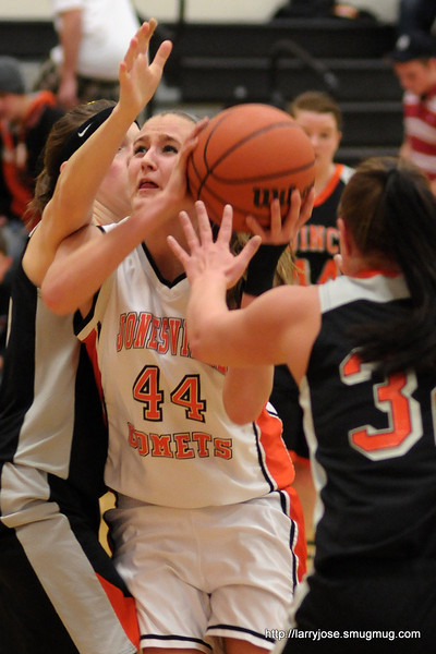 Jonesville vs Quincy Girls Basketball