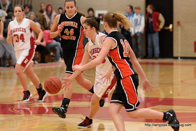 Jonesville vs Reading Girls Basketball