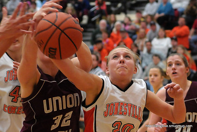 Jonesville vs Union City Girls Basketball