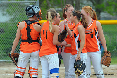 Jonesville vs Homer Girls Softball