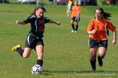 Jonesville vs Leslie Varsity Girls Soccer