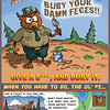 Poopsy Owl Outdoor Sanitation Poster
