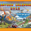 Cartoon Calendar Cover: 2012