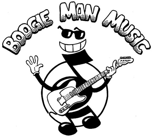 Boogie Man Music Logo