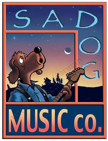Sad Dog Music Company Logo
