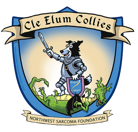Cle Elum Collies Walking Team Logo