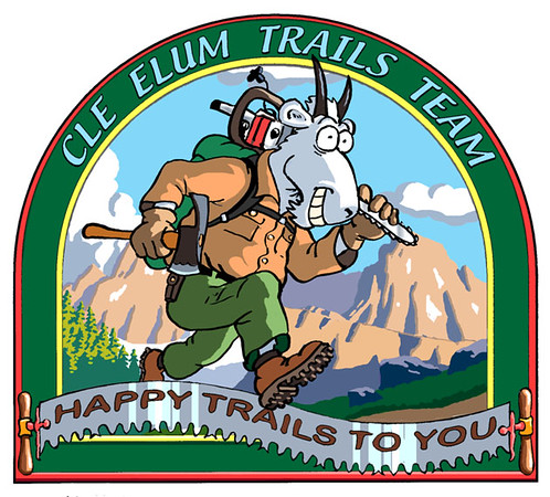 Logo for US Forest Service Trail Maintenance Team