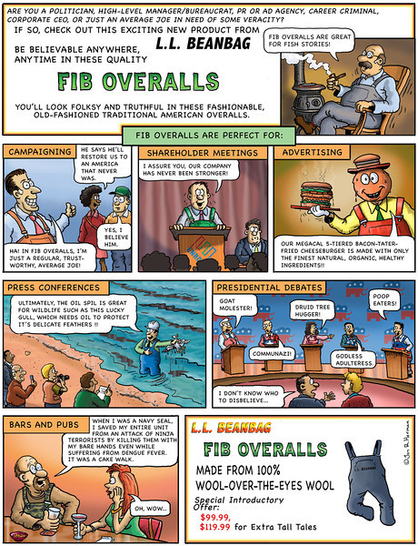 Fib Overalls