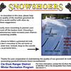 Snowshoe Ettiquete Poster