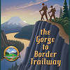 Poster/Sign for the Gorge to Border Trailway