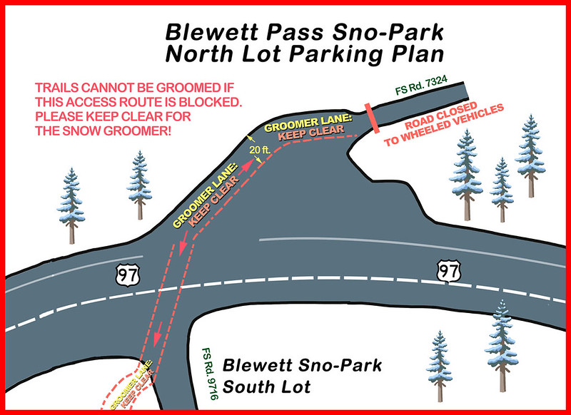 Sno-Park Parking Plan