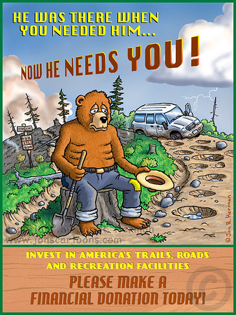 Only You can Save the Forests and Parks!