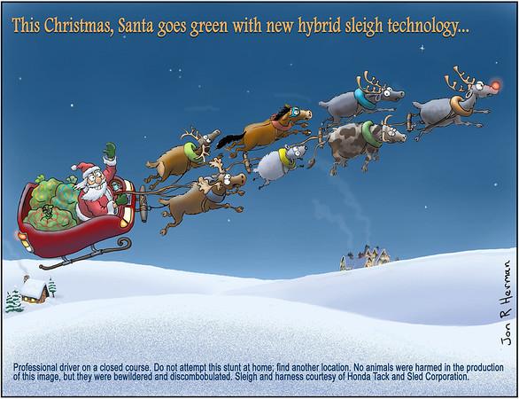 Hybrid Sleigh Technology