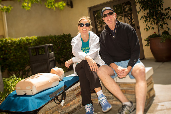 Karen Sharp, Director ER Saddleback, Dr. Larry Burbridge, ER Physician