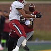 DeSmet's Kaleb Purdy breaks up a pass intended for Joplin's Trayshawn Thomas (23) during their Class 6 Championship game on Saturday in Columbia.<br /> Globe | Laurie Sisk