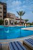 The Marriott Hotel resort on the Dead Sea, Hashemite Kingdom of Jordan, Middle East.