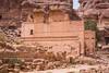 The Uneishu Tomb in Petra, Hashemite Kingdom of Jordan.