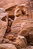 Rock piles in Petra, Hashemite Kingdom of Jordan.