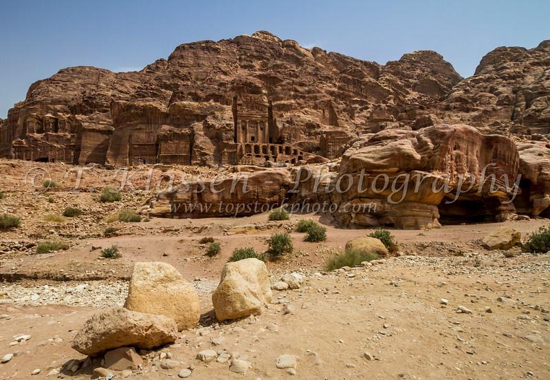 in Petra, Hashemite Kingdom of Jordan.