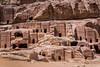 The Street of Facades in Petra, Hashemite Kingdom of Jordan.