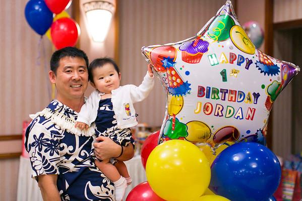 Jordan + Jackson's 1st Birthday (Event Photos + Fusion Portraits)