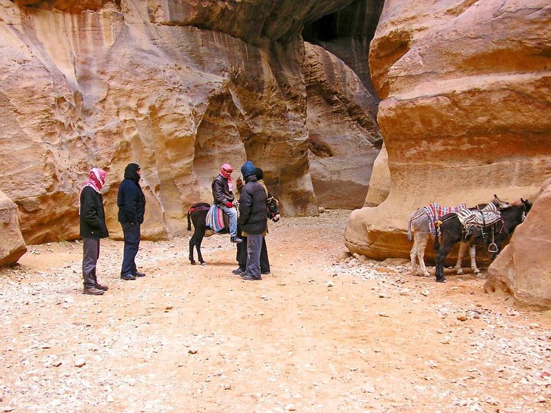 Guides with Donkeys