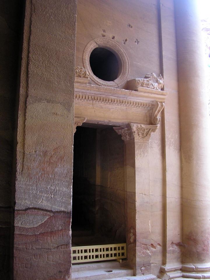 Interior Treasury Doorway