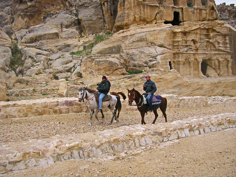 Bedouin Horse Riders