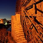 Wooden Water-wheel (Noria), Hama