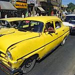 Vintage Cars in Hama, Syria