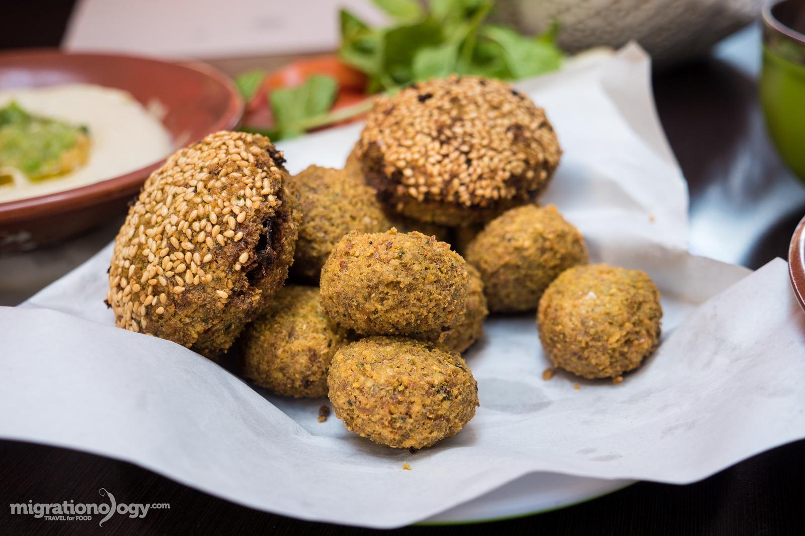 Jordanian falafel