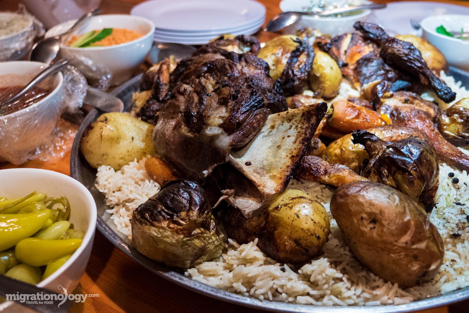 Bedouin food