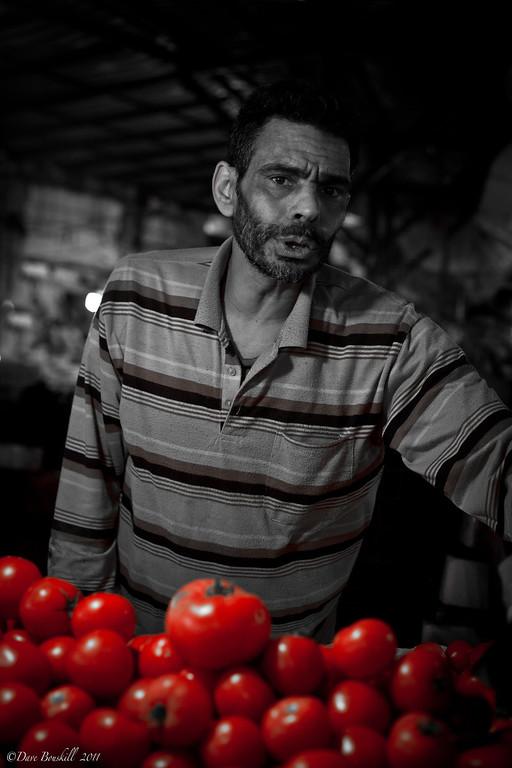 People in the market in amman jordan