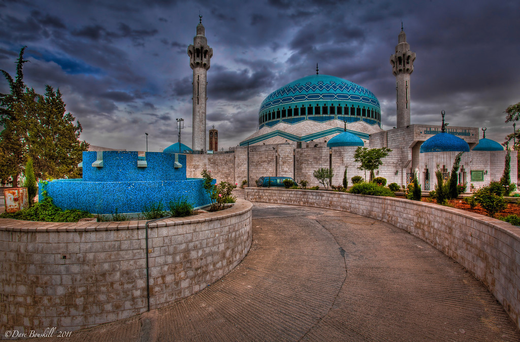 blue mosque amman jordan
