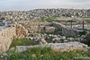 Amman beyond Roman Ruins on Citadel Hill