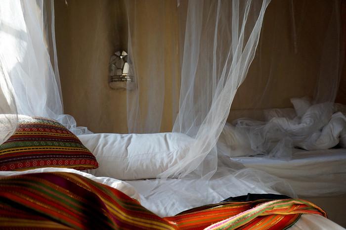My room at the Feynan Ecolodge