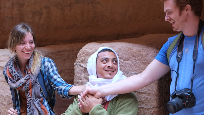 Getting married in Petra, kind of.