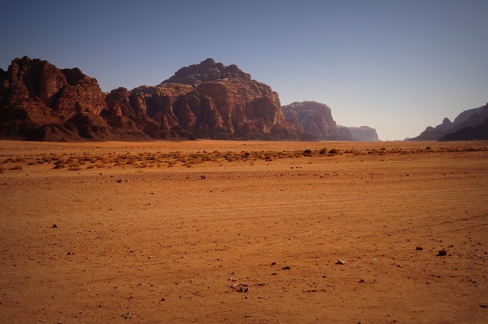 Memories from the Wadi Rum Desert in Jordan